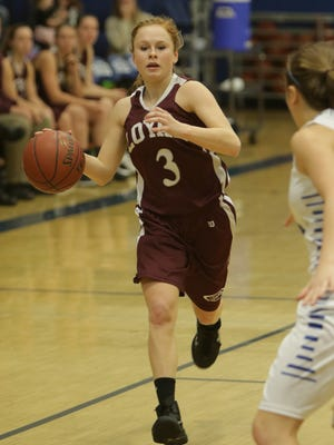 Loyal senior Devyn Schoonover has been a big part to the Greyhounds rise to dominance in the Cloverbelt Conference.