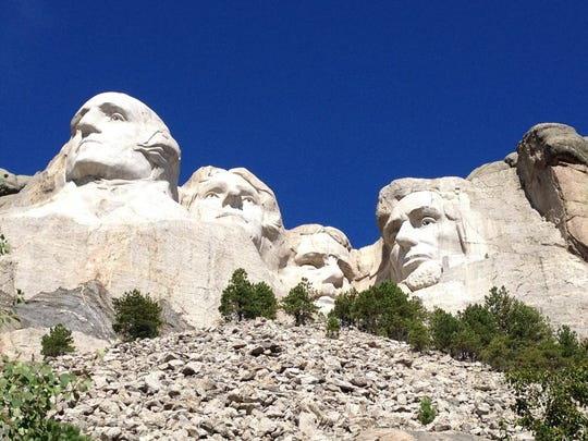 Mount Rushmore, located in South Dakota's Black Hills.