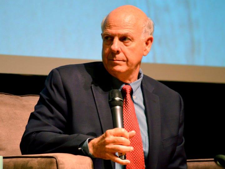 U.S. Rep. Steve Pearce, R-NM, speaks at tax reform