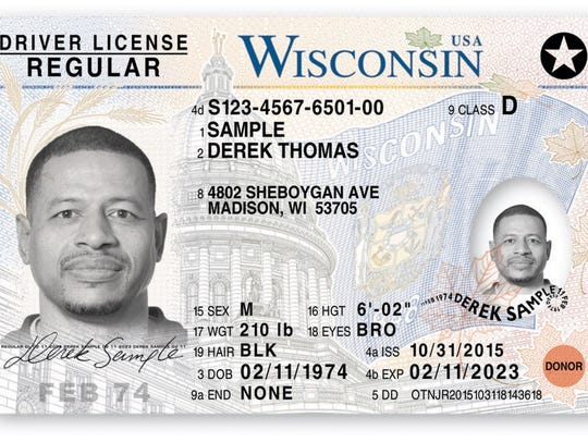 In Wisconsin, regular driver's licenses need to be renewed every eight years.
