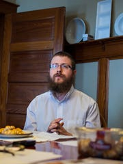 Rabbi Zalman Wilhelm explains how the state's new GMO-labeling law is having the unintended consequence of removing kosher food from grocery shelves in Burlington on Tuesday, July 5, 2016.