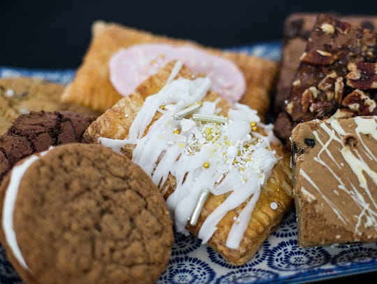 A few pastry options on display at Wiltshire on the