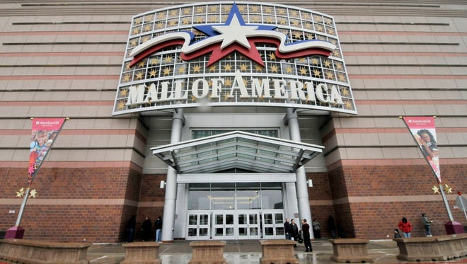 Mall of America in Bloomington, Minn.,  heightened security after a video threatening a terrorist attack was  released purportedly by a Somali militant group with ties to al-Qaeda.