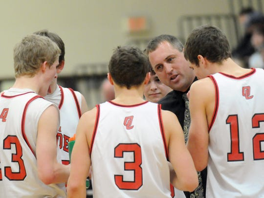 Dennis Ruedinger returns to the Lourdes Academy basketball program. He spent 16 years as the head coach for the boys varsity program.
