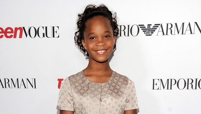 "Quvenzhane Wallis has the title role in the new movie  of ""Annie"" opening Dec. 19."