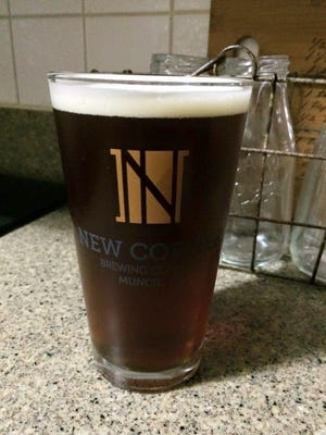 Hurst Haus Brown is available at: New Corner Brewing Co.