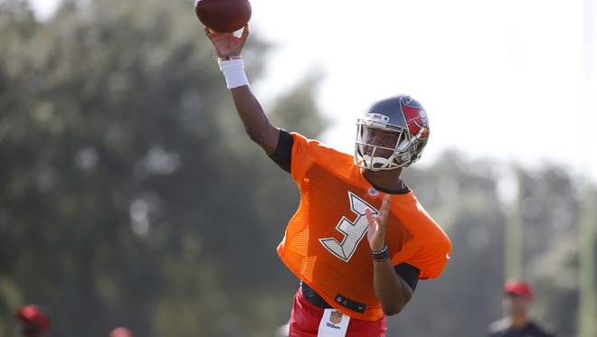 Buccaneers quarterback Jameis Winston threw for over 4,000 yards last season with 28 touchdowns and 18 interceptions.