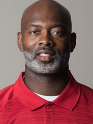 Lee coach Tyrone Rogers at the Montgomery Advertiser's