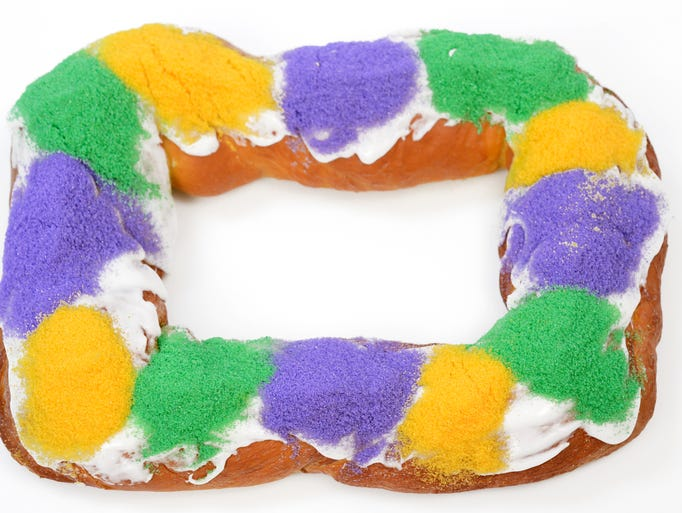 King Cake Takes Across The Country
