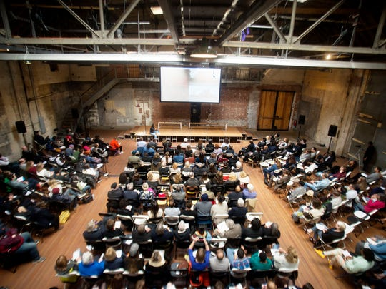 Ideas City Detroit conference was held at the Jam Handy