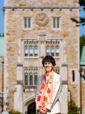 Vassar College President Catharine Hill