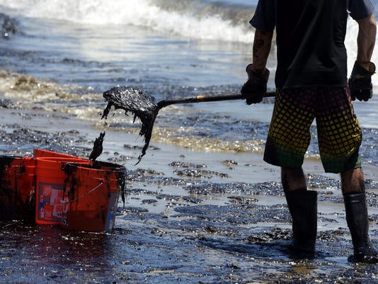 EPA USA CALIFORNIA OIL SPILL ENV ENVIRONMENTAL POLLUTION USA CA