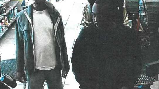 This picture taken within the Texaco Service Gas Station in Prattville are being considered persons of interest in a burglary.