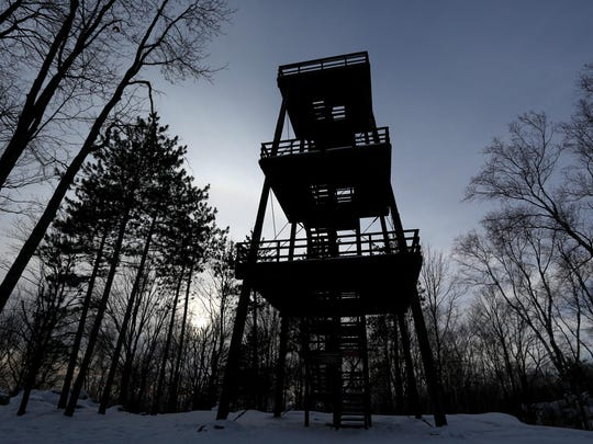 Going to state parks like Rib Mountain will become