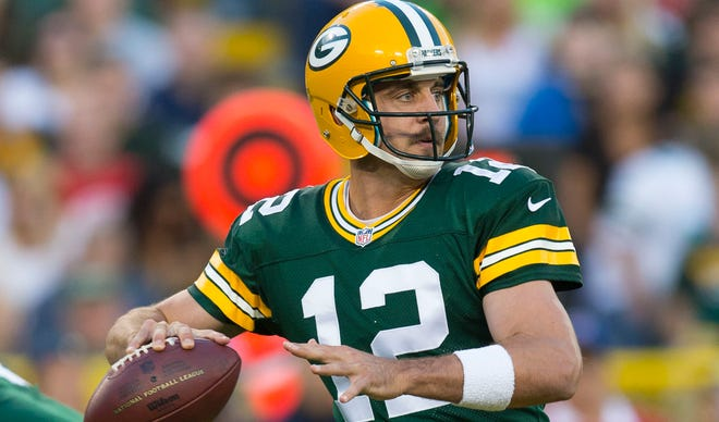 Aaron Rodgers could statistically become the NFL's most accurate quarterback by the end of the 2013 season.
