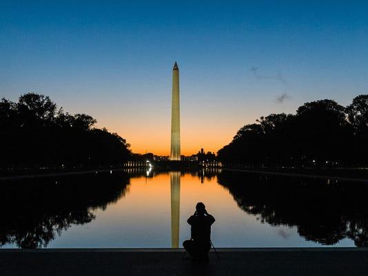Washington Monument Height
