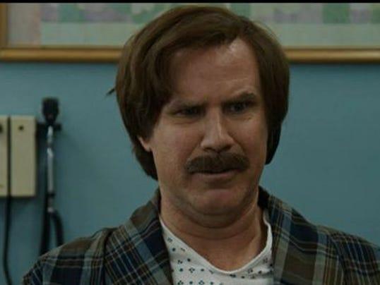"Ron Burgundy in ""Anchorman 2"""