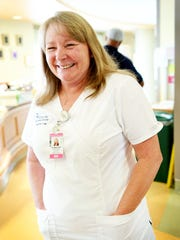 Charleen Ballard, RNC-NPT, works in the NICU at Mission