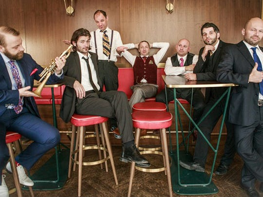Mnozil Brass brings its unique blend of music virtuosity and theatrical wit to the Lawrence Memorial Chapel March 29.