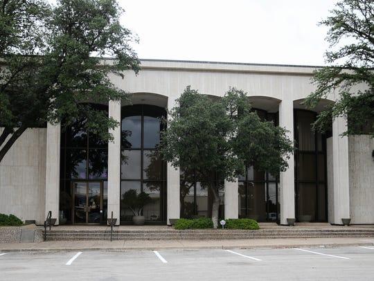 First Financial Bank building at 301 W. Beauregard