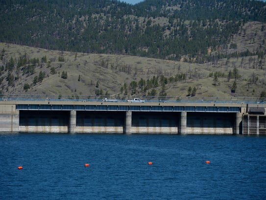 The Canyon Ferry Lake and Dam, which is supervised