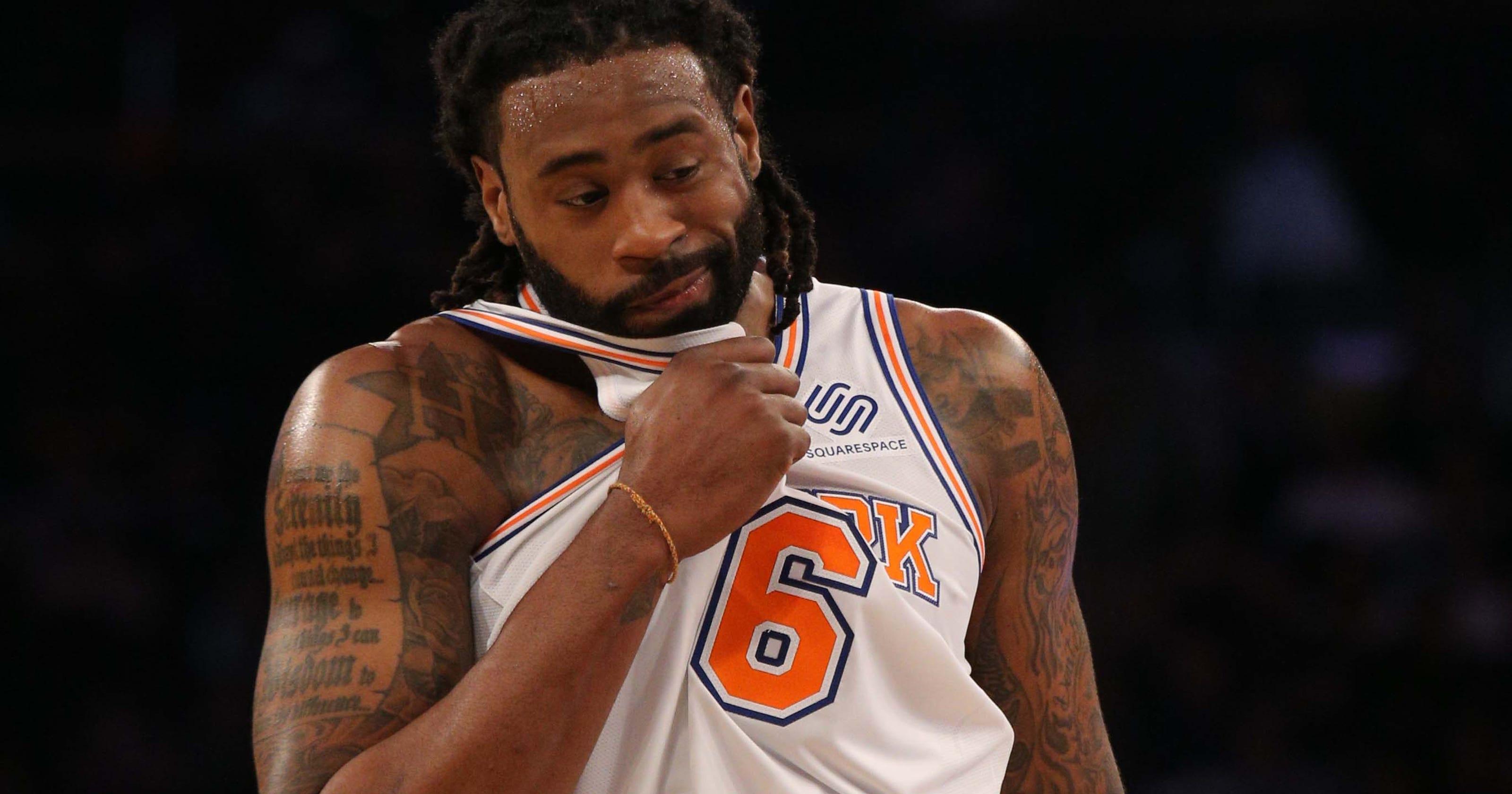 sale retailer d0cd0 64139 New York Knicks: What DeAndre Jordan sees in Mitchell Robinson