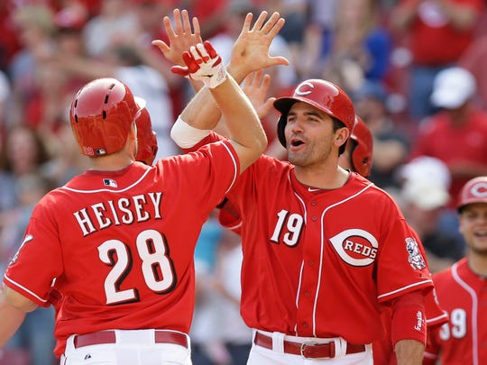 The three-homer game on May 13, 2012, was the second of Joey Votto's career and his first since May 7, 2008 – his rookie season.