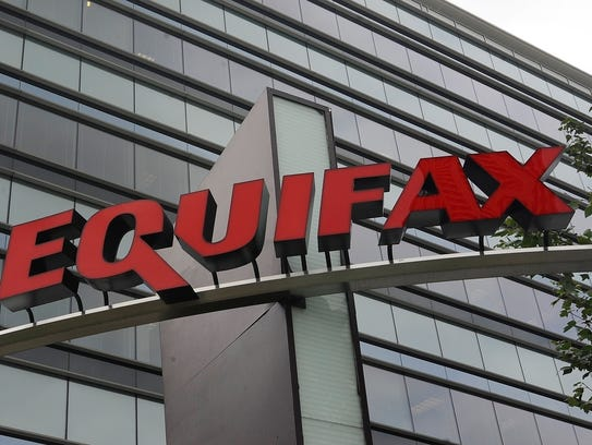 The signage at the corporate headquarters of Equifax