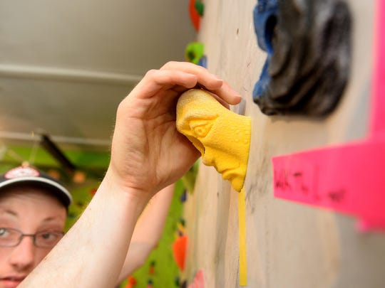 Eagle Mount and the Hi-Line Climbing Center are working together on an experimental program called Adaptive Climbing as recreational therapy for people with disablities.