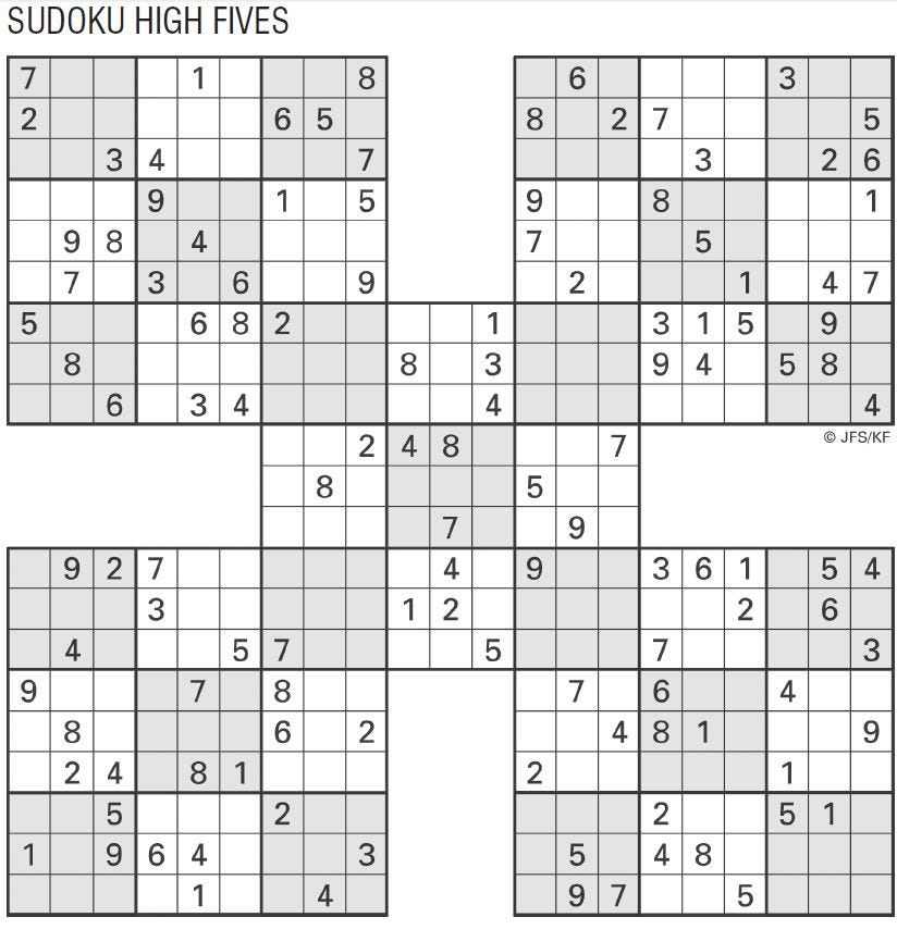 picture about Printable Sudoku 4 Per Page identify Printable Sudoku Large 5, May perhaps 24