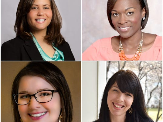 Women to Watch collage of 4 for 2017