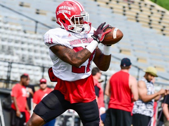 Jordan Wright, a freshman, hopes to become UL's No.