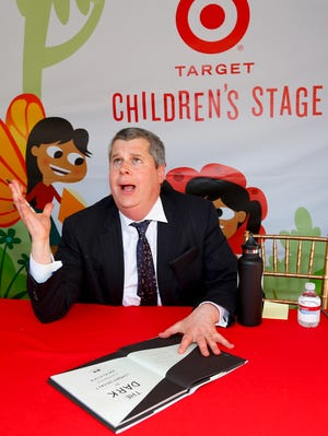 Author Daniel Handler aka Lemony Snicket attends the 18th Annual LA Times Festival of Books at USC on April 20, 2013, in Los Angeles.