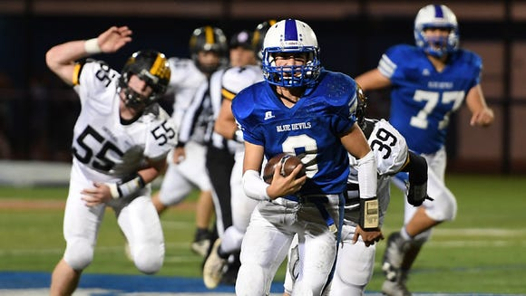 Wood-Ridge QB Mike Giancaspro earned a NorthJersey.com