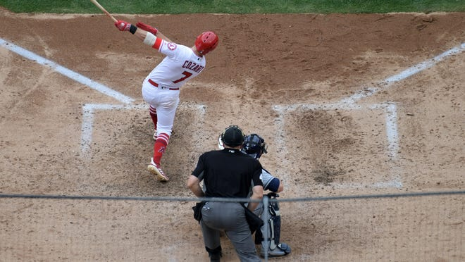 Zack Cozart (Kirby Lee/USA TODAY Sports)