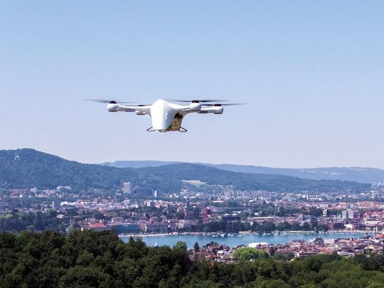 United Parcel Service Inc. and Matternet, a startup drone partner, began the first continuing commercial drone deliveries in the U.S.