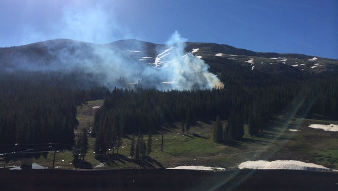 Three people died in a plane crash June 30, 2014 at Loveland Ski Area in Georgetown, Colo.