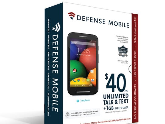 Defense Mobile says its about 30% to 40% cheaper on