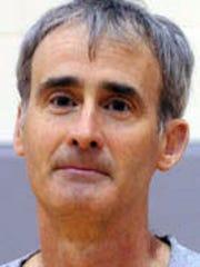 Harding girls tennis coach Blaine Pitts