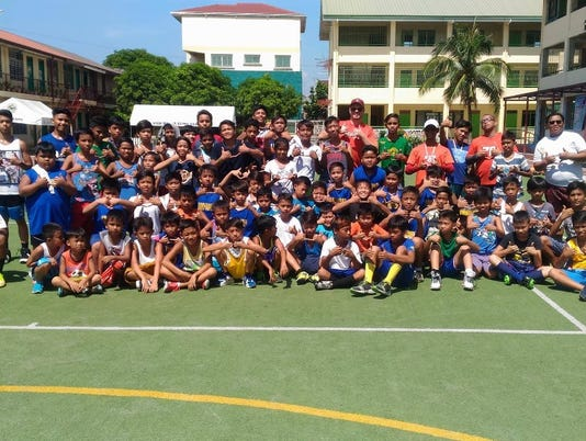 Philippines football clinic