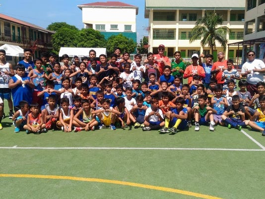 Philippines football clinic