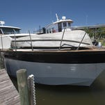 This 1960s era Chris Craft yacht located at Pelican's Perch Marina, in Warrington, for more than a decade, has been sold. The pleasure boat's new owner, a Texas businessman, has been preparing the vessel for a sea voyage to its new home in the Lone Star State, where it will undergo extensive renovations and restoration.