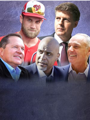 USA TODAY Sports names the Top 100 most powerful people in Major League Baseball.