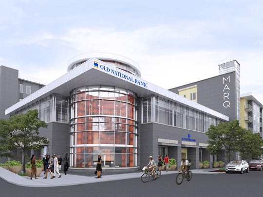An artist's rendering of what the finished project will look like.