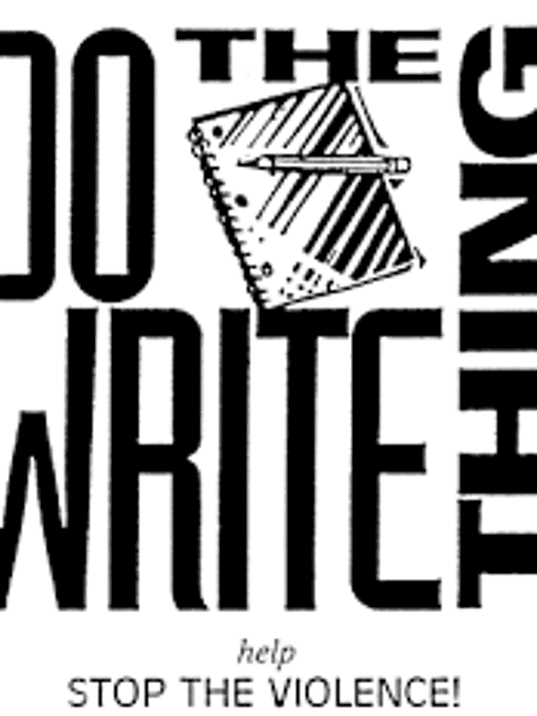 do the write thing contest essays The do the write thing challenge gives middle school students an opportunity to examine the impact of youth violence on their lives through classroom discussions and .
