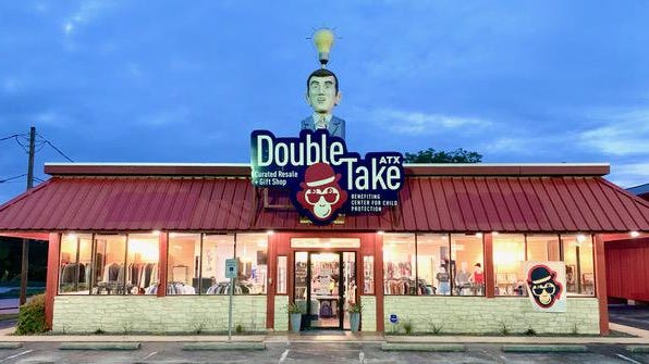 DoubleTake ATX is a new resale shop on Burnet Road that benefits nonprofit Center for Child Protection.