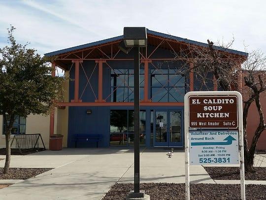 El Caldito Soup Kitchen, 999 W. Amador Ave., serves