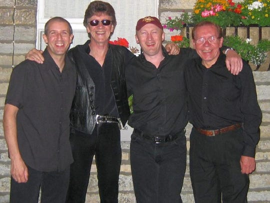Mike Berry's current band line-up: Alan Jackman, from