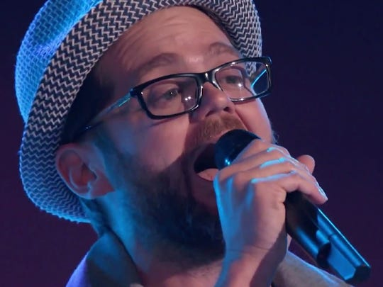 "Josh Kaufman performs ""One More Try"" on the March 10 episode of ""The Voice."""