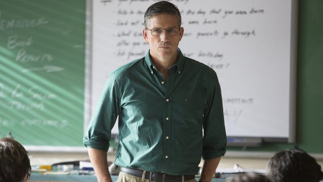 """Jim Caviezel in a scene from """"When The Game Stands Tall."""""""